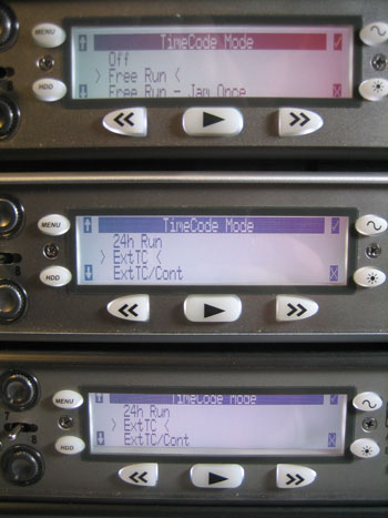 Linking Multiple 788T Recorders for Simultaneous Recording » Sound